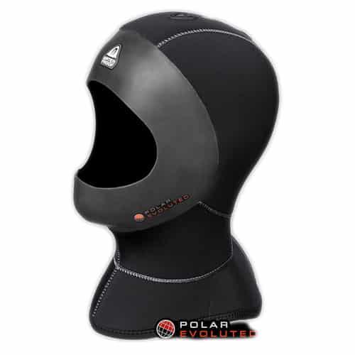 Waterproof Hette H1 5/10mm, med glatt kant for helmaske