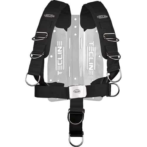 Tecline 3mm Bakplate m/komfort harness